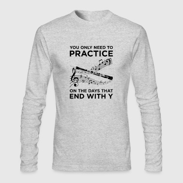 Practice Oboe T-Shirt - Men's Long Sleeve T-Shirt by Next Level