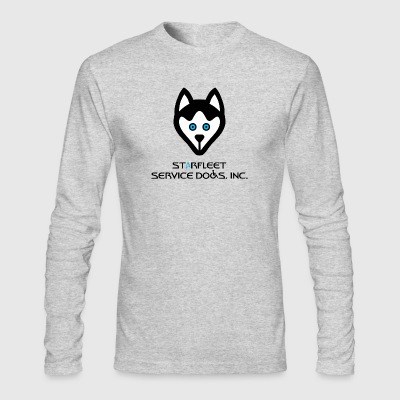 Starfleet Service Dogs, Inc. - Men's Long Sleeve T-Shirt by Next Level