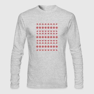 Pattern design - Men's Long Sleeve T-Shirt by Next Level