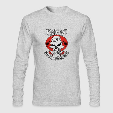 Raider star - Men's Long Sleeve T-Shirt by Next Level