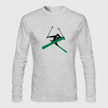 Freestyle skiing  - Men's Long Sleeve T-Shirt by Next Level