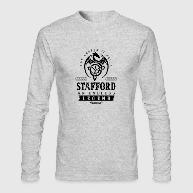 STAFFORD - Men's Long Sleeve T-Shirt by Next Level