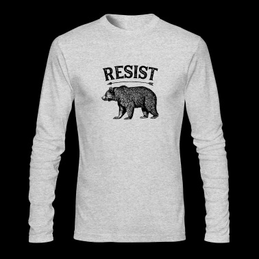 Resist - Men's Long Sleeve T-Shirt by Next Level