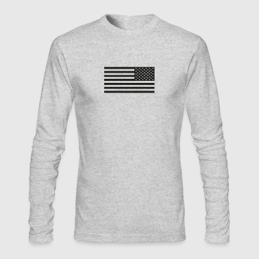 Stars and Stripes - Men's Long Sleeve T-Shirt by Next Level