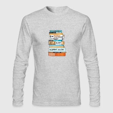book - Men's Long Sleeve T-Shirt by Next Level