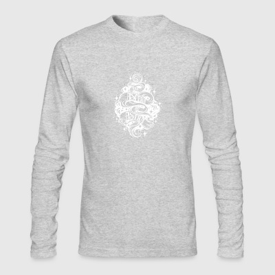 Per Aspera Ad Astra Latin phrase - Men's Long Sleeve T-Shirt by Next Level