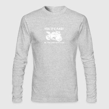 yest is fast - Men's Long Sleeve T-Shirt by Next Level