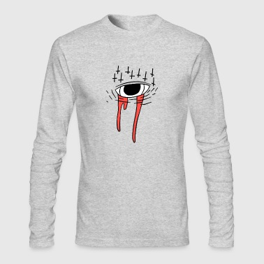 Satanic eye - Men's Long Sleeve T-Shirt by Next Level