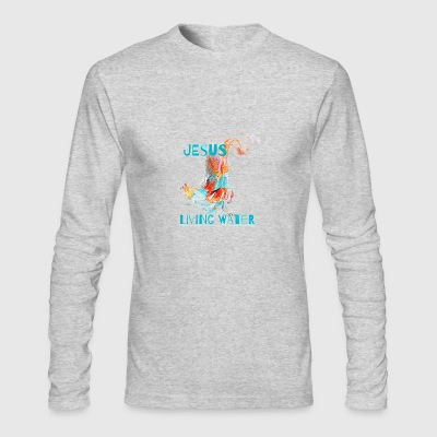 living water - Men's Long Sleeve T-Shirt by Next Level