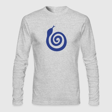 swirl snake - Men's Long Sleeve T-Shirt by Next Level