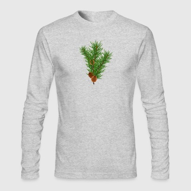 Green Branch - Men's Long Sleeve T-Shirt by Next Level