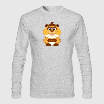 Hamster-animal-rodent-wildlife - Men's Long Sleeve T-Shirt by Next Level