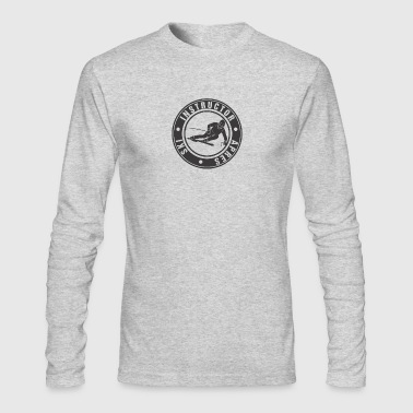 Ski Instructor (black) - Men's Long Sleeve T-Shirt by Next Level