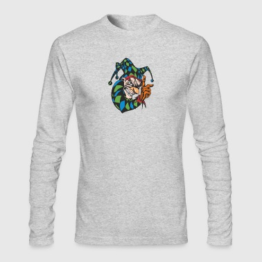 EVIL_CLOWN_2_COLORED - Men's Long Sleeve T-Shirt by Next Level