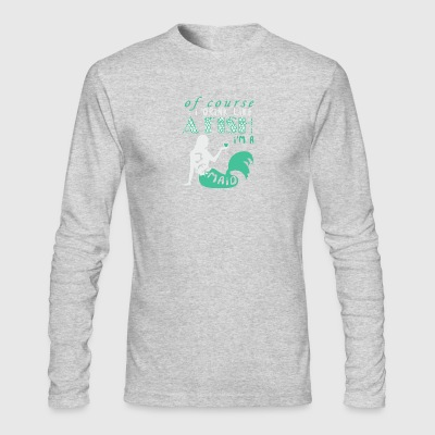 Of Course I Drink Like A Fish I'm A Mermaid Shirt - Men's Long Sleeve T-Shirt by Next Level