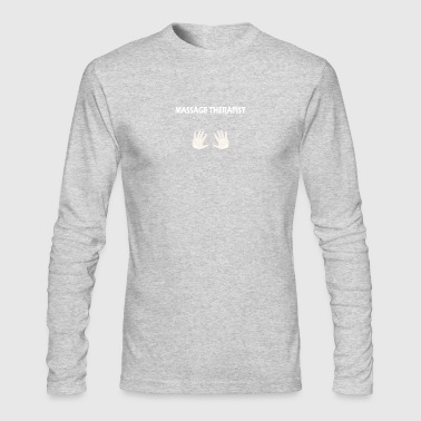 Massage Tshirt - Men's Long Sleeve T-Shirt by Next Level