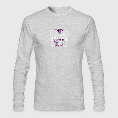 Marble Falls Baseball 1 - Men's Long Sleeve T-Shirt by Next Level