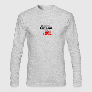 Jail - Men's Long Sleeve T-Shirt by Next Level