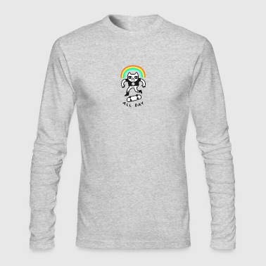 Sick Kick Flips - Men's Long Sleeve T-Shirt by Next Level