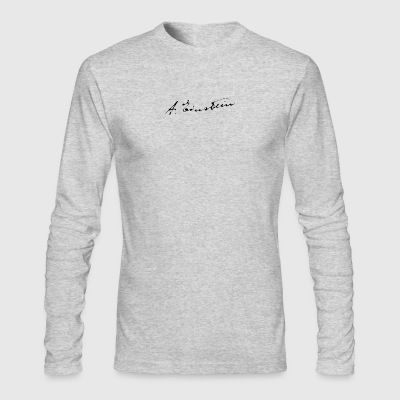 Albert Einstein - Men's Long Sleeve T-Shirt by Next Level