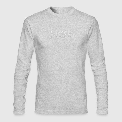 Savage sweetheart - Men's Long Sleeve T-Shirt by Next Level