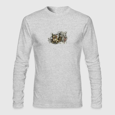 Dragon Heart - by Fanitsa Petrou - Men's Long Sleeve T-Shirt by Next Level