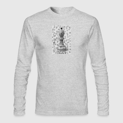 Bishop from Checkmate - Men's Long Sleeve T-Shirt by Next Level