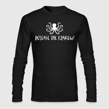 release the kraken - Men's Long Sleeve T-Shirt by Next Level