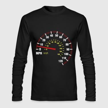 Speedometer - Men's Long Sleeve T-Shirt by Next Level