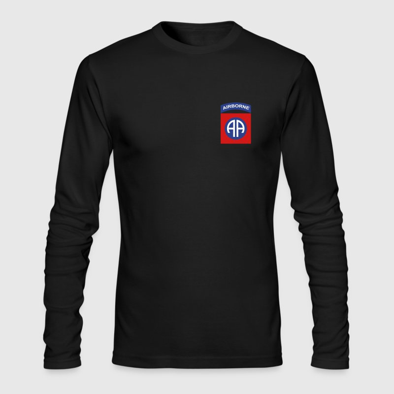 82nd Airborne Deluxe - Men's Long Sleeve T-Shirt by Next Level