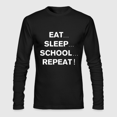 School Repeat - Men's Long Sleeve T-Shirt by Next Level