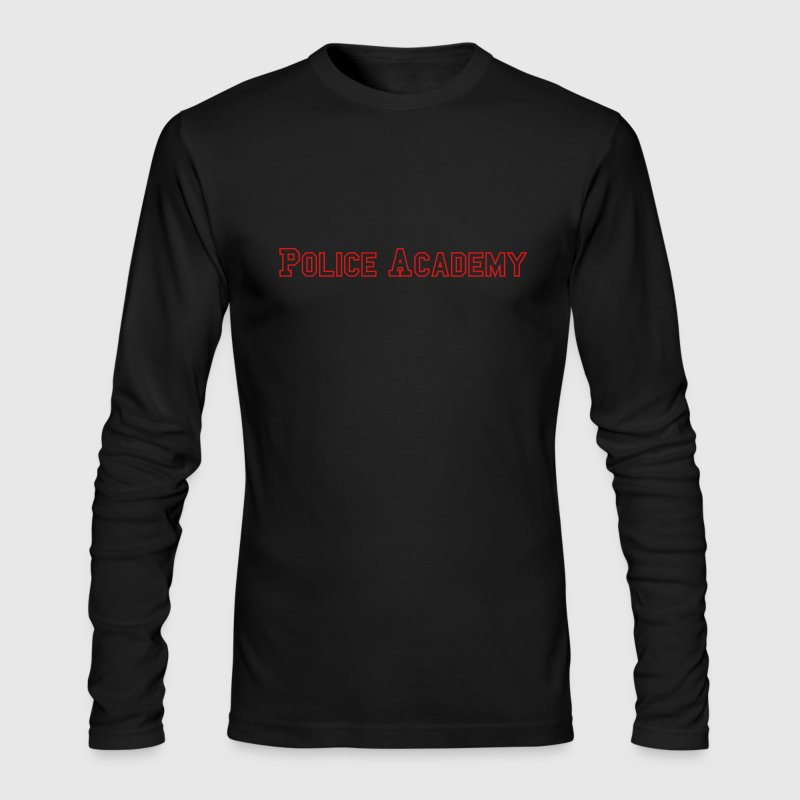 Police Academy - Men's Long Sleeve T-Shirt by Next Level