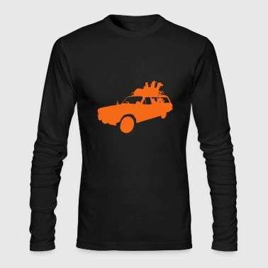 Llama's on a Stationwagon - Men's Long Sleeve T-Shirt by Next Level