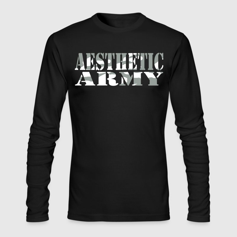 Aesthetic Army - Men's Long Sleeve T-Shirt by Next Level