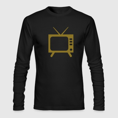 TV - Men's Long Sleeve T-Shirt by Next Level