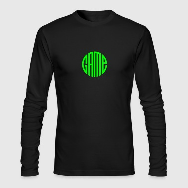 Game circle - Men's Long Sleeve T-Shirt by Next Level