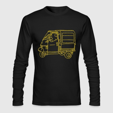 Tricycle Transporter - Men's Long Sleeve T-Shirt by Next Level