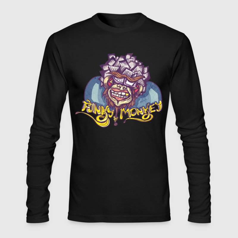 Funky Monkey - Men's Long Sleeve T-Shirt by Next Level