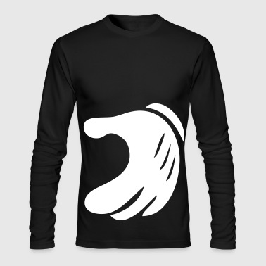 Match Matching Heart - Men's Long Sleeve T-Shirt by Next Level