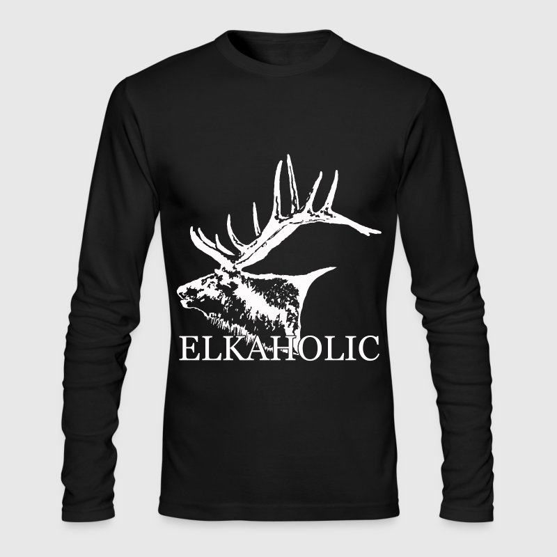 Elkaholic w - Men's Long Sleeve T-Shirt by Next Level