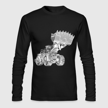Old Mining Wheel Loader - Men's Long Sleeve T-Shirt by Next Level