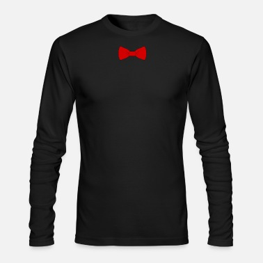 Bow Tie red bow tie - Men's Long Sleeve T-Shirt by Next Level