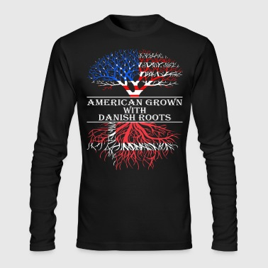 American Grown With Danish Roots - Men's Long Sleeve T-Shirt by Next Level