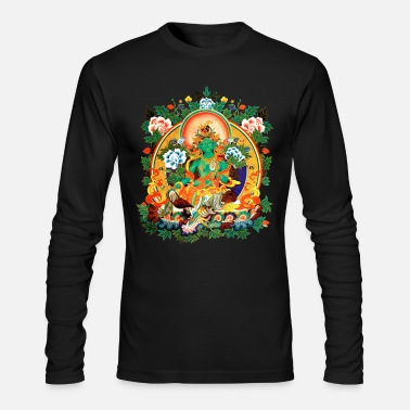 Buddhism Green Tara - Men's Longsleeve Shirt