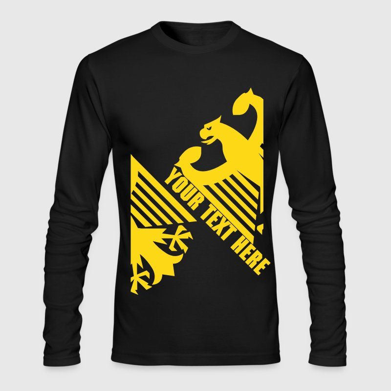 German Eagle, Personalize, Made in Germany - Men's Long Sleeve T-Shirt by Next Level