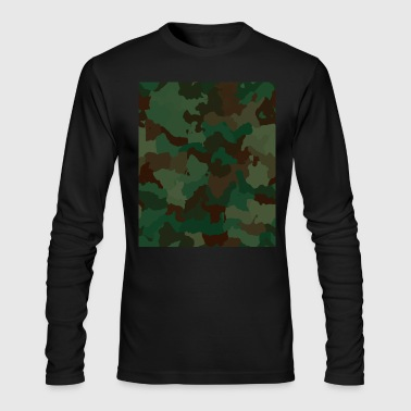 Camo Rectangle - Men's Long Sleeve T-Shirt by Next Level