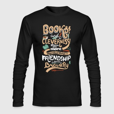 Books and cleverness - Men's Long Sleeve T-Shirt by Next Level