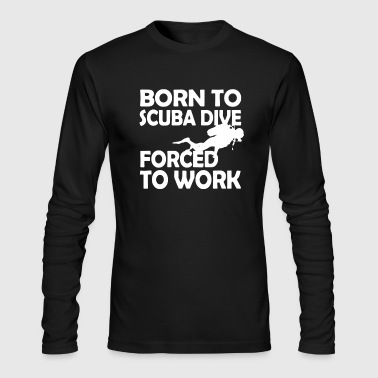 Scuba Dive Shirt - Men's Long Sleeve T-Shirt by Next Level