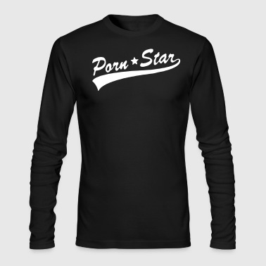 Porn Star PORN*STAR - Men's Long Sleeve T-Shirt by Next Level