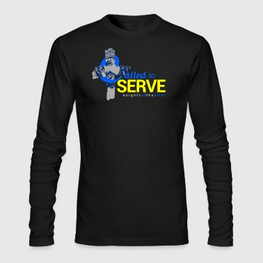Altar Called to Serve: Knights of the altar - Men's Long Sleeve T-Shirt by Next Level